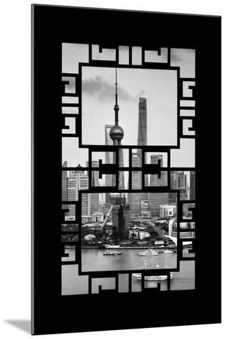 China 10MKm2 Collection - Asian Window - Shanghai Tower-Philippe Hugonnard-Mounted Photographic Print