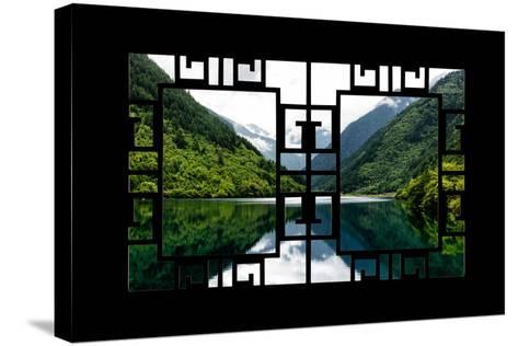 China 10MKm2 Collection - Asian Window - Rhinoceros Lake - Jiuzhaigou National Park-Philippe Hugonnard-Stretched Canvas Print