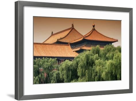 China 10MKm2 Collection - Forbidden City Architecture-Philippe Hugonnard-Framed Art Print