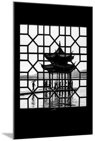 China 10MKm2 Collection - Asian Window - Temple Lake-Philippe Hugonnard-Mounted Photographic Print