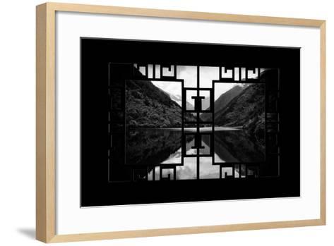 China 10MKm2 Collection - Asian Window - Rhinoceros Lake - Jiuzhaigou National Park-Philippe Hugonnard-Framed Art Print