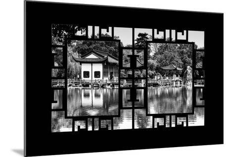 China 10MKm2 Collection - Asian Window - Temple Reflections-Philippe Hugonnard-Mounted Photographic Print