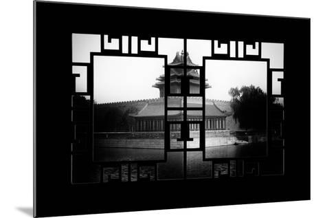 China 10MKm2 Collection - Asian Window - Watchtower - Forbidden City-Philippe Hugonnard-Mounted Photographic Print