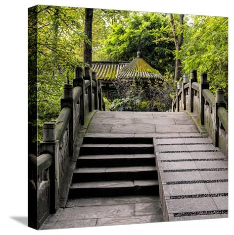 China 10MKm2 Collection - Chinese Bridge-Philippe Hugonnard-Stretched Canvas Print