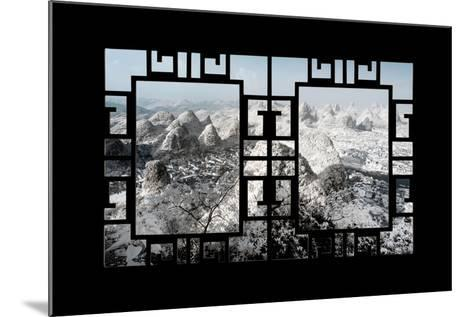 China 10MKm2 Collection - Asian Window - Another Look Series - Yangshuo-Philippe Hugonnard-Mounted Photographic Print