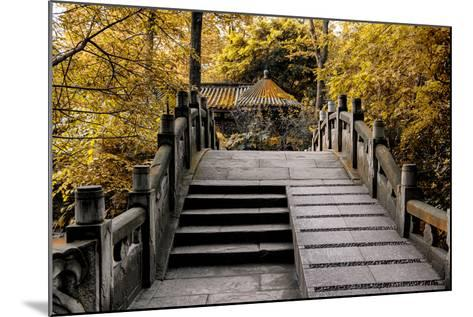 China 10MKm2 Collection - Chinese Bridge in Autumn-Philippe Hugonnard-Mounted Photographic Print