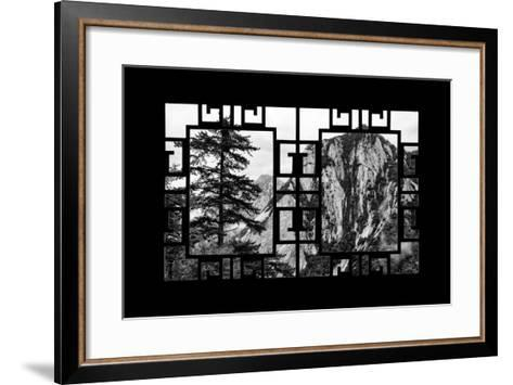 China 10MKm2 Collection - Asian Window - Mount Huashan - Shaanxi-Philippe Hugonnard-Framed Art Print