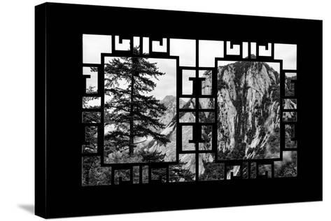 China 10MKm2 Collection - Asian Window - Mount Huashan - Shaanxi-Philippe Hugonnard-Stretched Canvas Print