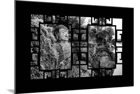 China 10MKm2 Collection - Asian Window - Giant Buddha of Leshan-Philippe Hugonnard-Mounted Photographic Print