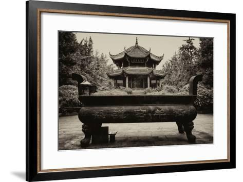 China 10MKm2 Collection - Chinese Temple-Philippe Hugonnard-Framed Art Print