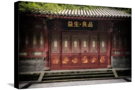 China 10MKm2 Collection - Chinese Architecture-Philippe Hugonnard-Stretched Canvas Print
