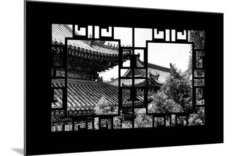 China 10MKm2 Collection - Asian Window - Summer Palace Architecture-Philippe Hugonnard-Mounted Photographic Print