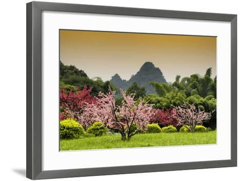 China 10MKm2 Collection - Beautiful Asian Garden-Philippe Hugonnard-Framed Art Print