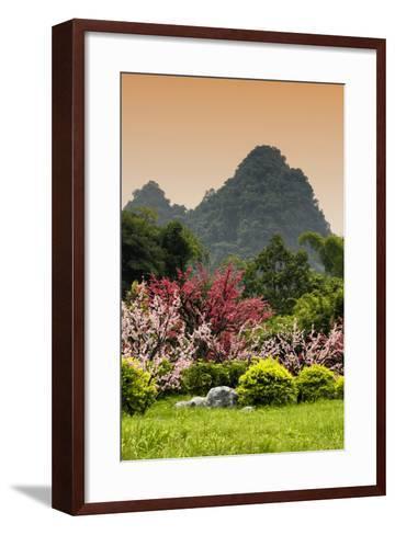 China 10MKm2 Collection - Beautiful Asian Garden-Philippe Hugonnard-Framed Art Print