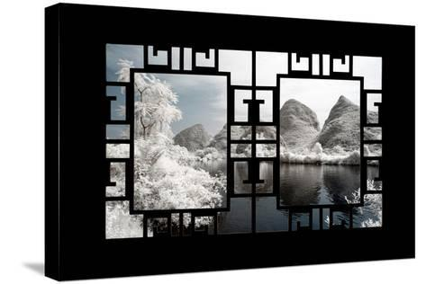 China 10MKm2 Collection - Asian Window - Another Look Series - Yangshuo-Philippe Hugonnard-Stretched Canvas Print