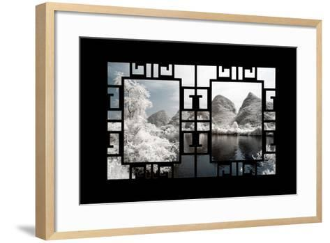 China 10MKm2 Collection - Asian Window - Another Look Series - Yangshuo-Philippe Hugonnard-Framed Art Print