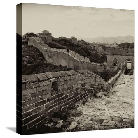 China 10MKm2 Collection - Great Wall of China-Philippe Hugonnard-Stretched Canvas Print