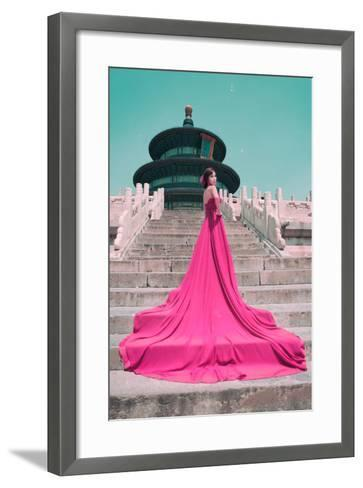 China 10MKm2 Collection - Instants Of Series - Fashion Pink-Philippe Hugonnard-Framed Art Print