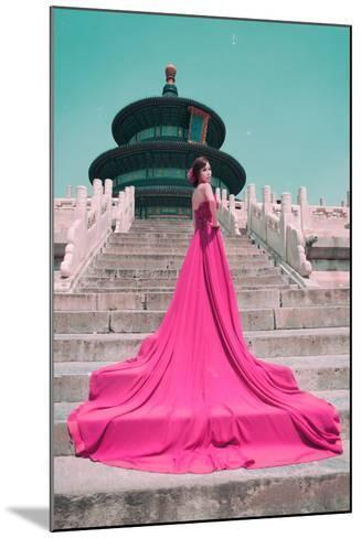 China 10MKm2 Collection - Instants Of Series - Fashion Pink-Philippe Hugonnard-Mounted Photographic Print