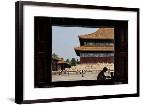China 10MKm2 Collection - Moment of Life - Forbidden City-Philippe Hugonnard-Framed Art Print
