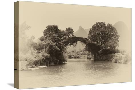 China 10MKm2 Collection - Dragon Bridge on the Yulong river-Philippe Hugonnard-Stretched Canvas Print