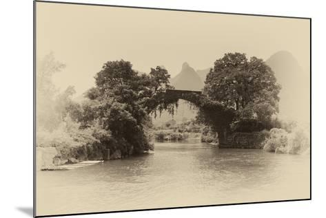 China 10MKm2 Collection - Dragon Bridge on the Yulong river-Philippe Hugonnard-Mounted Photographic Print