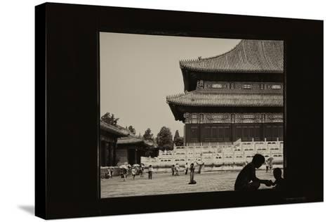 China 10MKm2 Collection - Moment of Life - Forbidden City-Philippe Hugonnard-Stretched Canvas Print