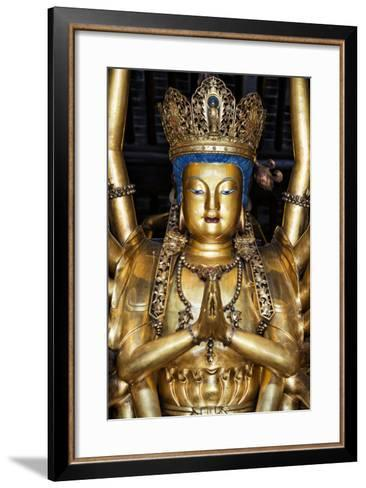 China 10MKm2 Collection - Golden Buddha-Philippe Hugonnard-Framed Art Print