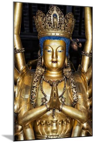 China 10MKm2 Collection - Golden Buddha-Philippe Hugonnard-Mounted Photographic Print