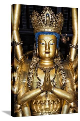 China 10MKm2 Collection - Golden Buddha-Philippe Hugonnard-Stretched Canvas Print
