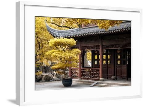 China 10MKm2 Collection - Classical Chinese Pavilion-Philippe Hugonnard-Framed Art Print