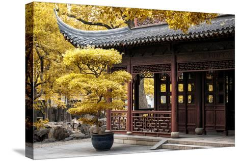 China 10MKm2 Collection - Classical Chinese Pavilion-Philippe Hugonnard-Stretched Canvas Print