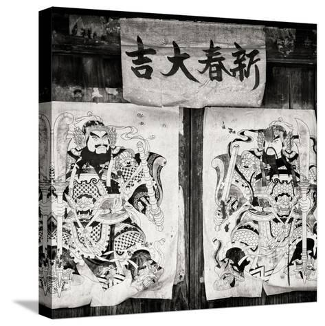 China 10MKm2 Collection - Chinese Samurai-Philippe Hugonnard-Stretched Canvas Print