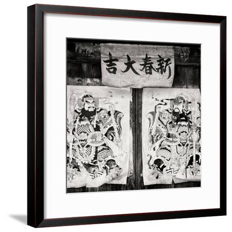 China 10MKm2 Collection - Chinese Samurai-Philippe Hugonnard-Framed Art Print