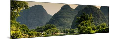 China 10MKm2 Collection - Karst Mountains at sunset - Yangshuo-Philippe Hugonnard-Mounted Photographic Print