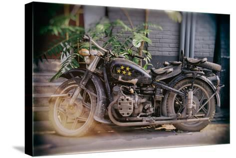 China 10MKm2 Collection - Instants Of Series - Motorcycle Five Stars-Philippe Hugonnard-Stretched Canvas Print
