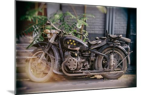 China 10MKm2 Collection - Instants Of Series - Motorcycle Five Stars-Philippe Hugonnard-Mounted Photographic Print