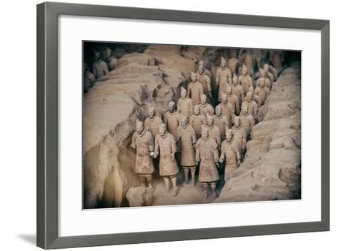 China 10MKm2 Collection - Instants Of Series - Terracotta Army-Philippe Hugonnard-Framed Art Print