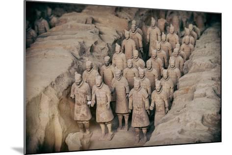 China 10MKm2 Collection - Instants Of Series - Terracotta Army-Philippe Hugonnard-Mounted Photographic Print