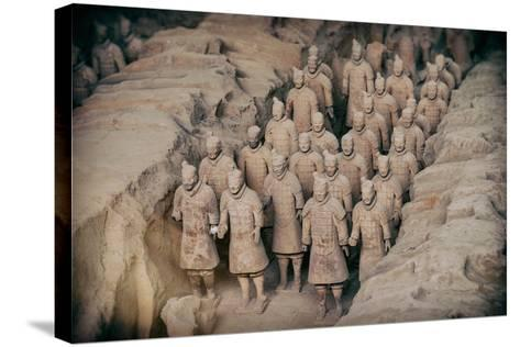 China 10MKm2 Collection - Instants Of Series - Terracotta Army-Philippe Hugonnard-Stretched Canvas Print