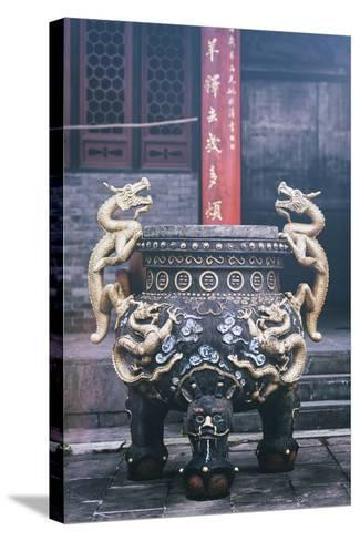 China 10MKm2 Collection - Dragon Incense-Philippe Hugonnard-Stretched Canvas Print
