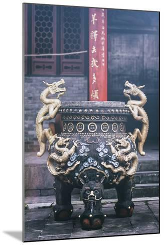 China 10MKm2 Collection - Dragon Incense-Philippe Hugonnard-Mounted Photographic Print