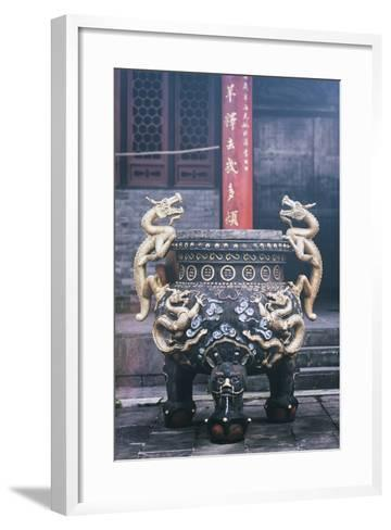 China 10MKm2 Collection - Dragon Incense-Philippe Hugonnard-Framed Art Print