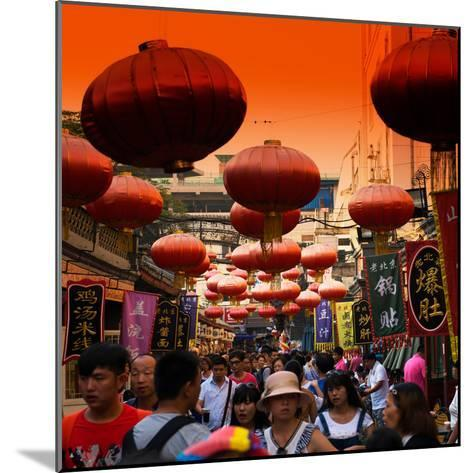 China 10MKm2 Collection - Chinese Street Atmosphere-Philippe Hugonnard-Mounted Photographic Print