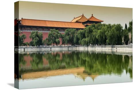 China 10MKm2 Collection - Forbidden City-Philippe Hugonnard-Stretched Canvas Print