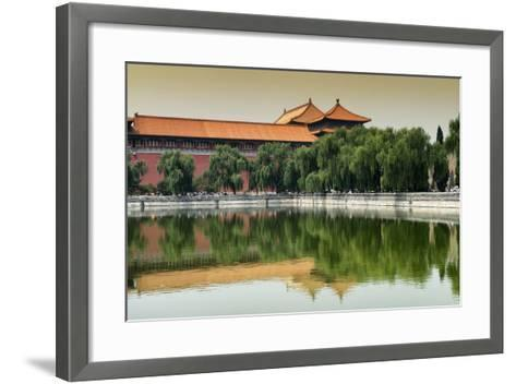 China 10MKm2 Collection - Forbidden City-Philippe Hugonnard-Framed Art Print