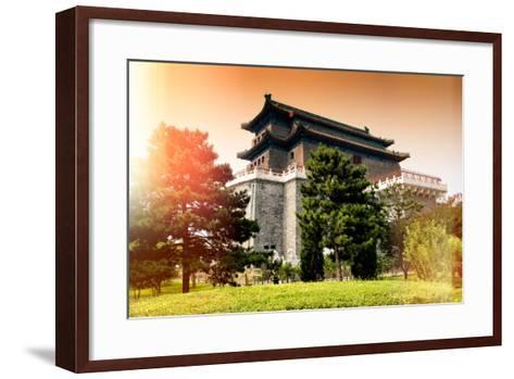 China 10MKm2 Collection - Instants Of Series - Chinese Architecture-Philippe Hugonnard-Framed Art Print