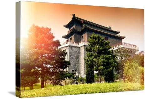 China 10MKm2 Collection - Instants Of Series - Chinese Architecture-Philippe Hugonnard-Stretched Canvas Print