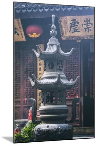 China 10MKm2 Collection - Detail Buddhist Temple-Philippe Hugonnard-Mounted Photographic Print