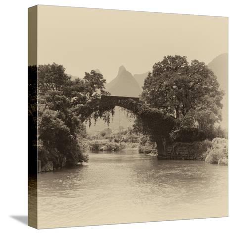 China 10MKm2 Collection - Guilin Yangshuo Bridge-Philippe Hugonnard-Stretched Canvas Print